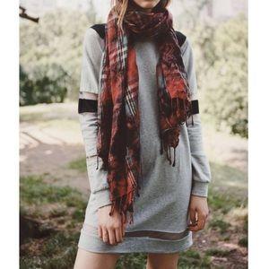 Sparkle & Fade Mesh Colorbook Sweatshirt Dress